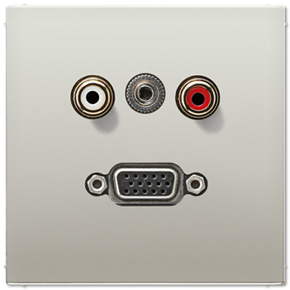 Аудио / Видео Аудио / Видео MAES1072 Плата гнезда VGA, мини джек 3,5, Cinch audio Jung