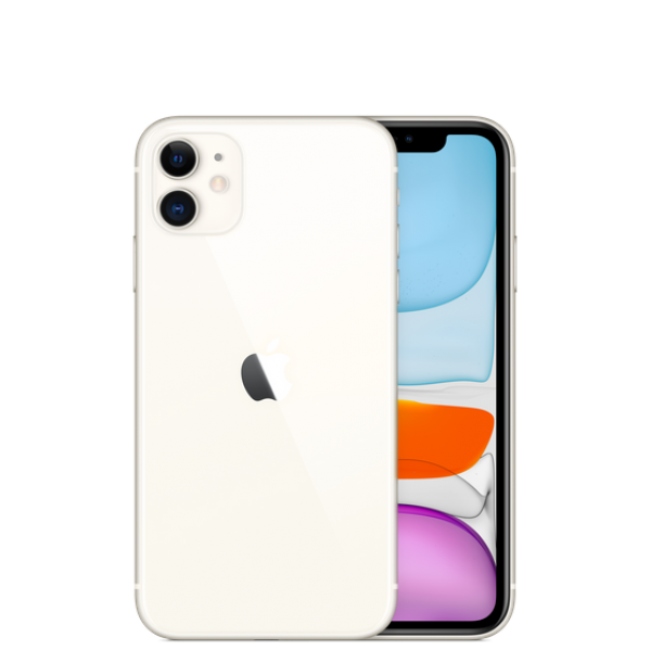 Смартфон Apple iPhone 11 64Gb White (Белый) Apple iPhone 11