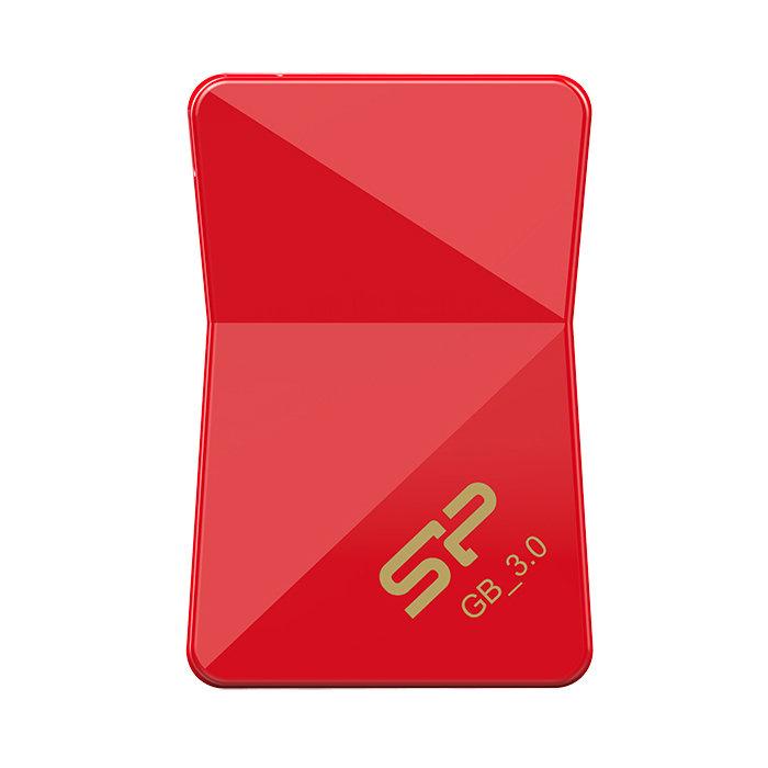 USB Flash накопитель 32GB Silicon Power Jewel J08 (SP032GBUF3J08V1R) USB 3.1 Красный