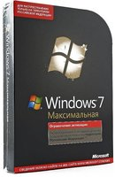 Microsoft Windows 7 Ultimate Russian DVD (GLC-02276)