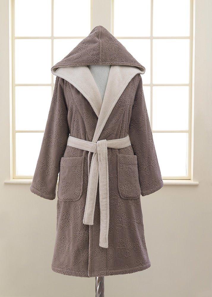 Женский махровый халат LEAF (ESC)