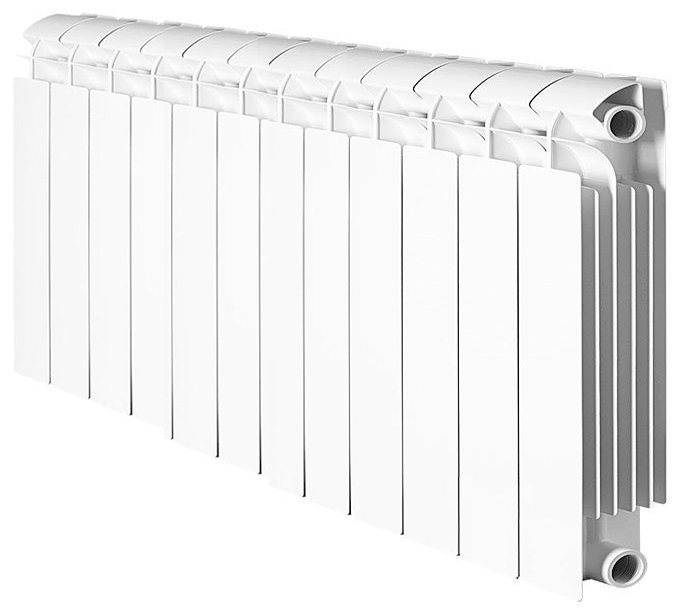 Биметаллический радиатор Global style plus 500 12 секц.