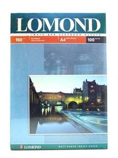 Фотобумага Lomond 0102005 матовая односторонняя a4. 160г/м2. 100л
