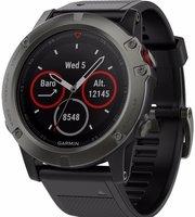 Спортивные часы Garmin Fenix 5X 010-01733-01 (Sapphire Slate Grey/Black) - фото 1