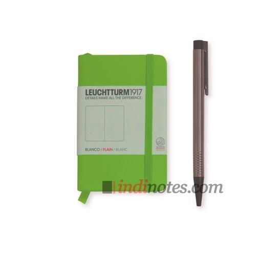 Leuchtturm1917 Mini Notebook Lime