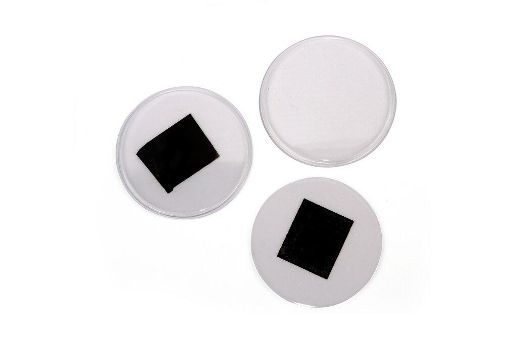 Заготовка акрилового магнита круглая D72 мм