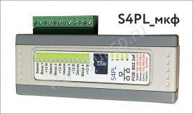 Аудиорегистратор ОСА S4PL с сетевым интерфейсом (2 канала мкф)