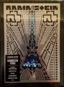 Rammstein - Paris/ Blu-ray [ Blu-Ray-Video/ Amaray/ Booklet] ( Original, 1st Edition 2017)