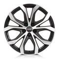 Диск Alutec W10X Racing Black Front Polished 18x8 5x120 ET40 d.72,6 - фото 1