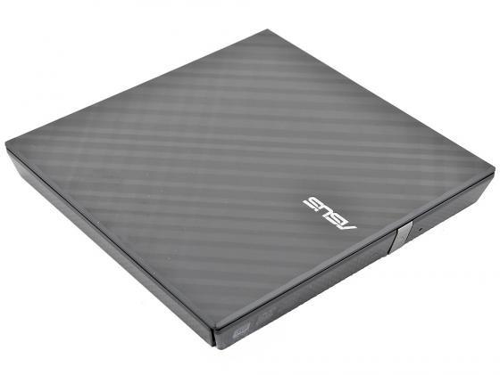 Внешний привод DVD±RW ASUS SDRW-08D2S-U Lite Slim USB2.0 Retail черный