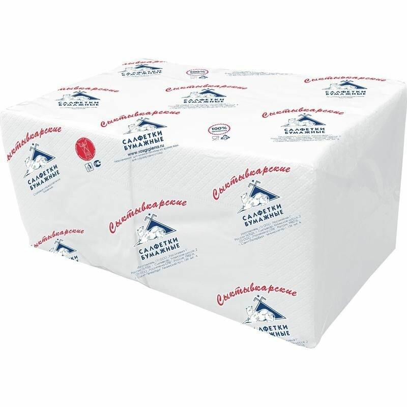 Салфетки Profi Pack 2 сл. 24×24 белые 250 шт./уп.