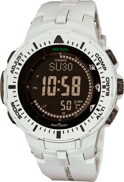 Японские наручные часы Casio Pro Trek PRG-300-7E с хронографом