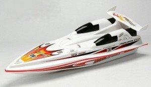 Катера игрушки Радиоуправляемый катер Double Horse Blue Streak Boat 1:16