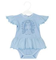 Боди Три медведя цвет: голубой, для малышей, размер 74