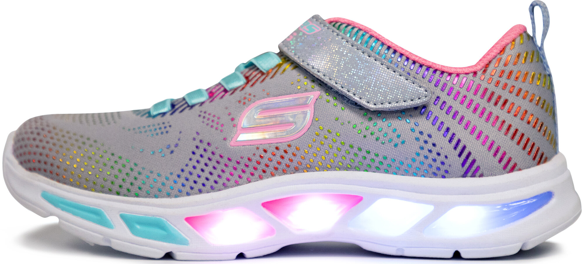 Кроссовки с мигающими лампочками для девочек - купить в Москве по ... ef5a5884402
