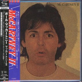McCartney, Paul - McCartney II/ CD [ SHM-CD/ Cardboard Sleeve ( mini LP)/ Obi Strip] [ Limited Edition] ( Remastered, Reissue 2017)