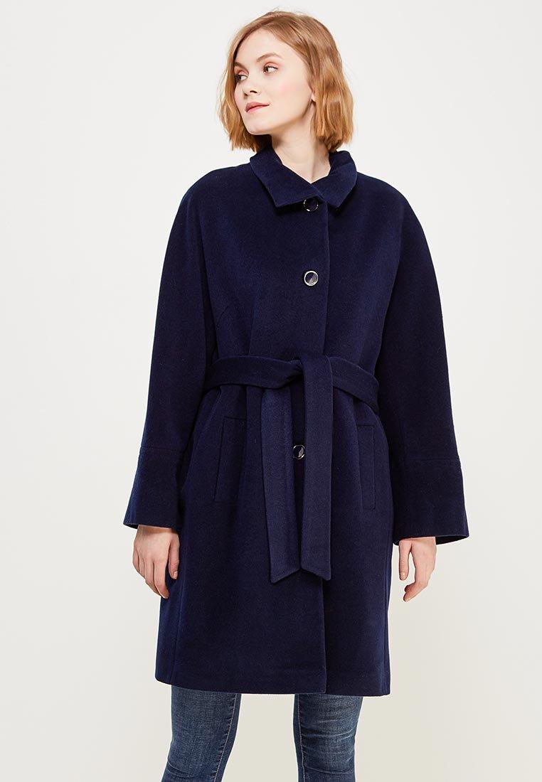 9a3bf8a15e2 Пальто Doroteya выполнено из мягкого шерстяного драпа. Модель свободного  кроя дополнена поясом в тон. Детали  воротник с лацканами