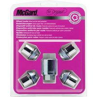 Секретные гайки McGard на колеса 4шт. (гайки, М12*1.5, длина резьбы: 32.5 мм, размер ключа: 19 мм) 24212 SU
