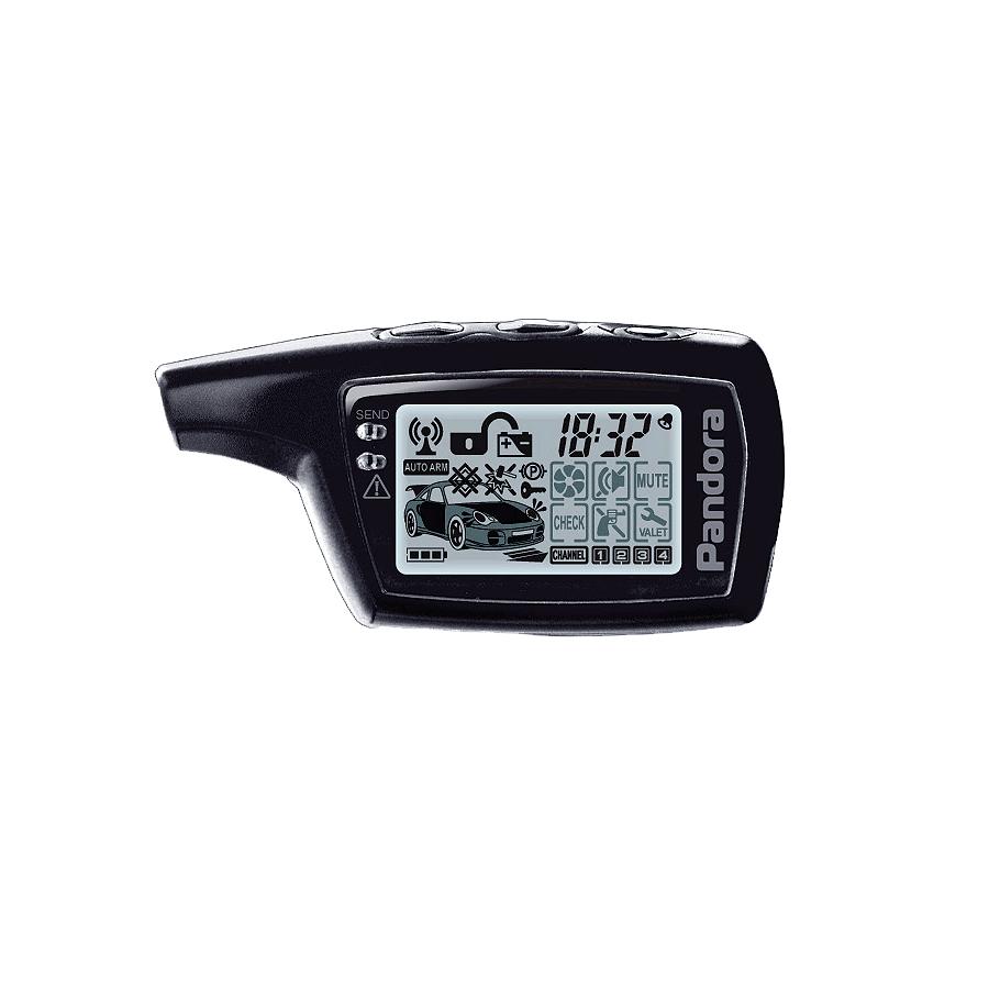 Pandora D-073 брелок с дисплеем