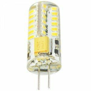 GENERAL LIGHTING Лампа светодиодная LED 3 вт 12v G4 4500К (652300, GENERAL LIGHTING)