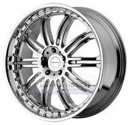 Колесные диски KMC KM127 8.5x18 5*120 ET38 d74.1 Chrome - фото 1