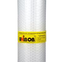 пленка воздушно-пузырчатая unibob 1,2х5м прозрачная 47070
