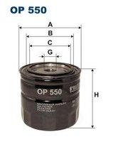 Фильтр масляный op550 Filtron арт. OP550