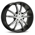 Диск American Racing AR897 8.5x20 5*114.3 ET38 d72.6 Black/Machined - фото 1