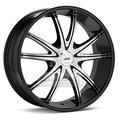 Колесные диски American Racing AR897 8.5x20 5*114.3 ET38 d72.6 Black/Machined - фото 1