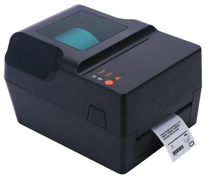 Термотрансферный принтер этикеток Rongta RP400, USB+RS232+Ethernet+LPT