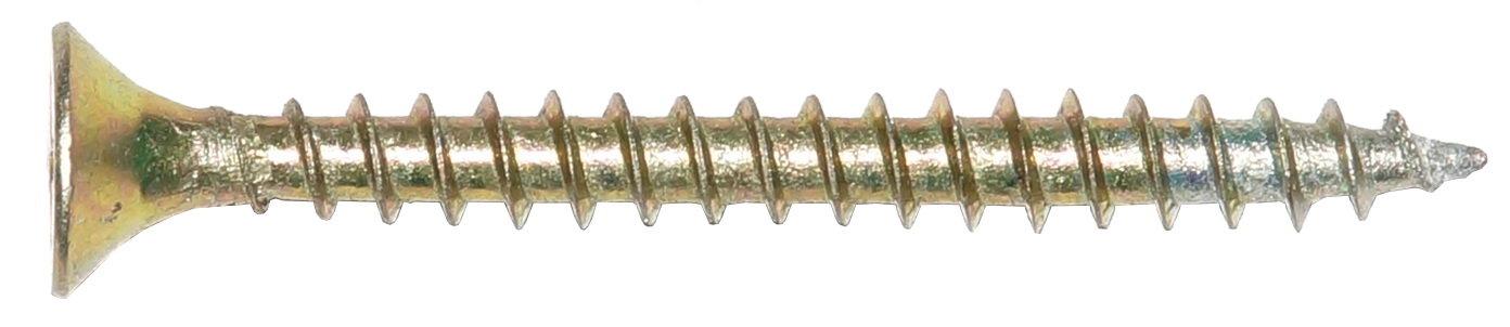 Шуруп универсальный 5х 50 желтый 190 шт