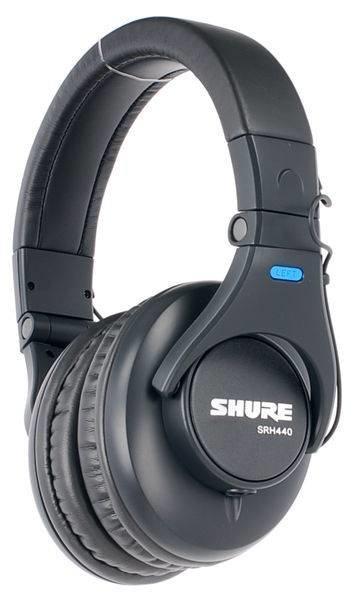 SHURE SRH440 профессиональные студийные наушники