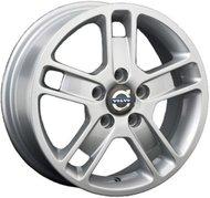 литой колесные диски Replica Volvo (V6) 6.5x16 ET52.5 PCD5*108 (Серебро) DIA 63.3 - фото 1
