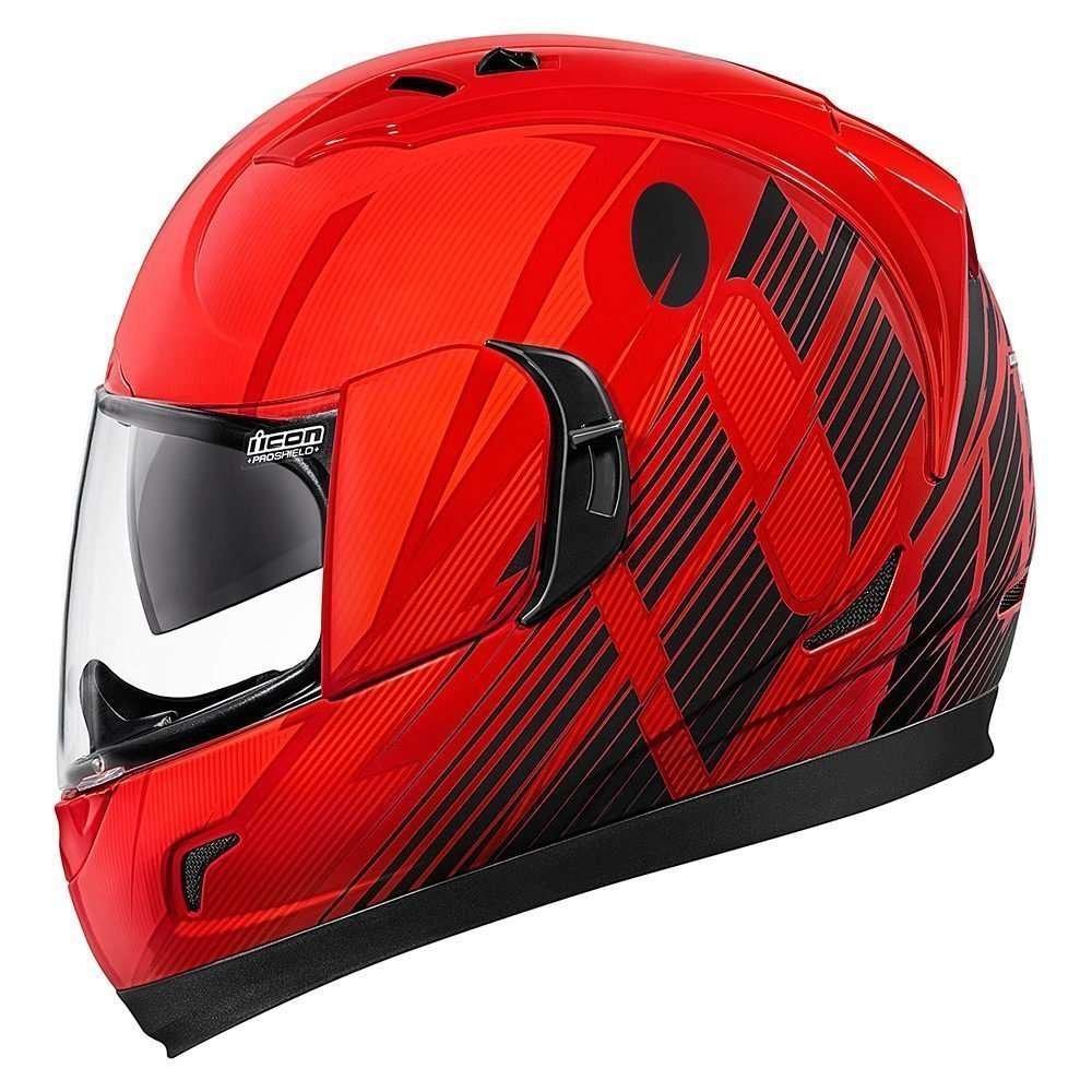 Icon Alliance Gt Primary красный мотошлем (размер: m, цвет: красные)