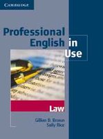 Professional English in Use Law Edition with answers