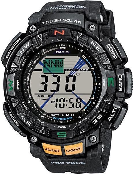 Японские наручные часы Casio Pro Trek PRG-240-1E