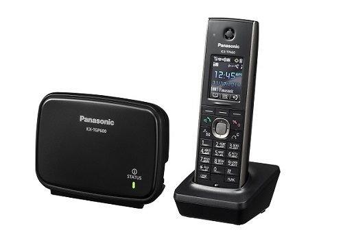Телефон SIP Panasonic KX-TGP600RUB SIP-DECT (8 линий - 8 одновременных разговоров, микро АТС)