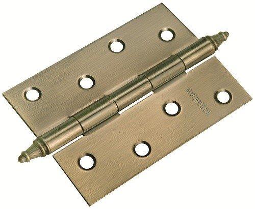 Петля стальная универсальная MORELLI MS 100X70X2.5-U AB с короной