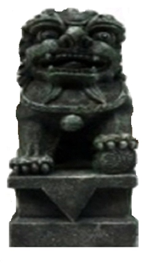 Декорация для аквариума Статуя льва пластиковая, 7,5 х 7,5 х 13,5 см, Prime (1 шт)