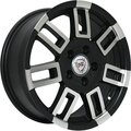 Колесный диск NZ SH593 6.5x16/5x114.3 D73.1 ET45 Черный - фото 1