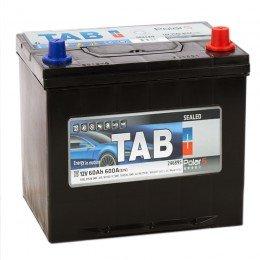 Автомобильный аккумулятор TAB POLAR S 60R 600А обратная полярность 60 Ач (230x168x220)