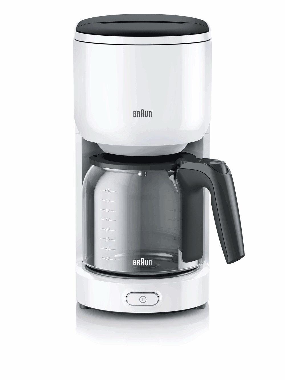 Капельная кофеварка Braun KF 3120 WH белая