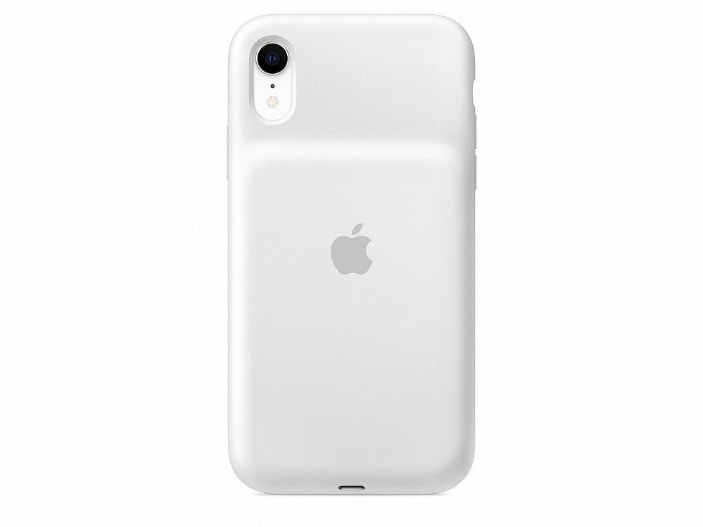 Apple Чехол-аккумулятор Smart Battery Case для iPhone XR, белый