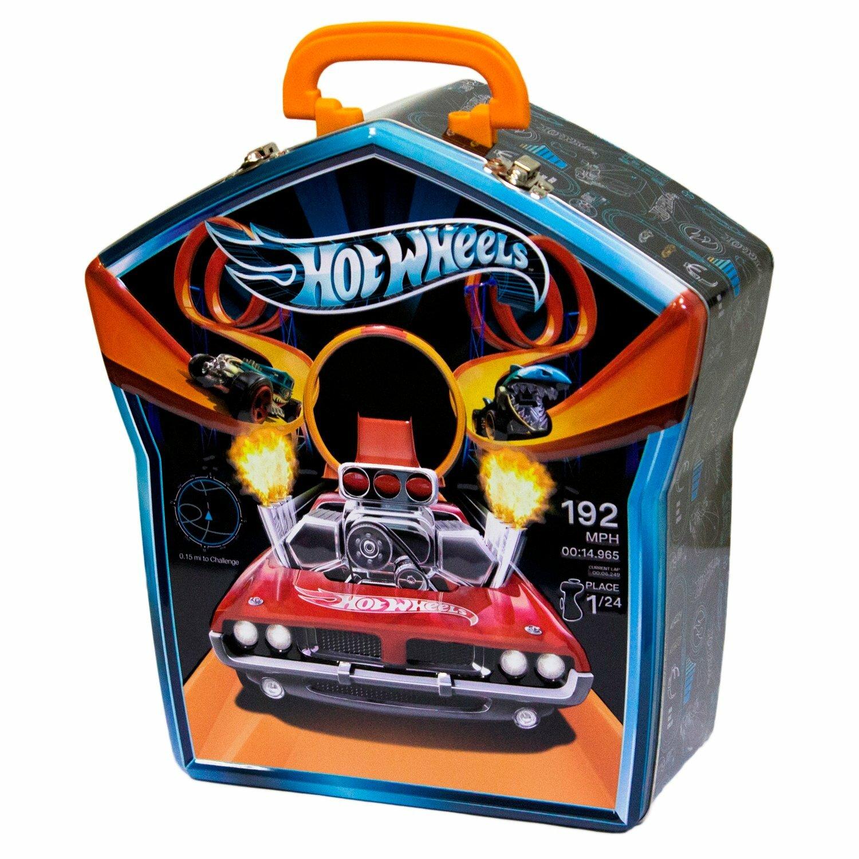 Купить Кейс для хранения машинок Hot Wheels Портативный, черный по низкой цене с доставкой из Яндекс.Маркета