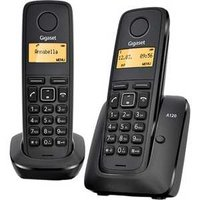 Радиотелефон Gigaset A120 Duo Black