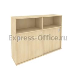 Рива Офисная мебель Metal system style Шкаф-купе приставной Б.ШК-2 1475x410x1098