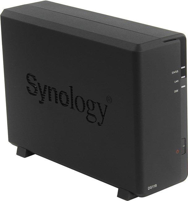Сетевое хранилище SYNOLOGY DS118
