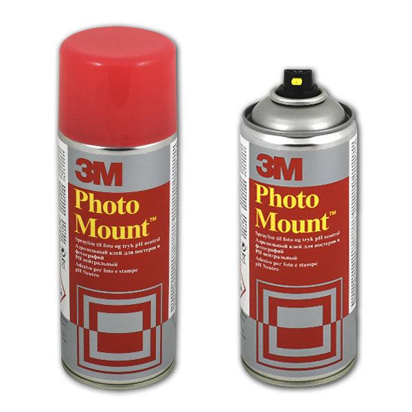 """Клей-спрей для фотографий и рекламных материалов 3M """"photo mount"""" аэрозоль 400 мл 3м YP-2080-6061-3,7000042443"""