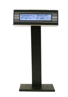 Дисплей покупателя ШТРИХ-T D2-USB-MB (чёрный)(USB)