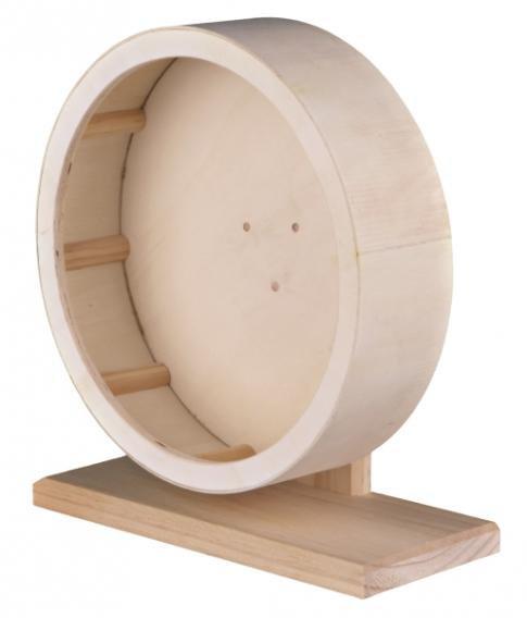 Колесо деревянное для грызунов